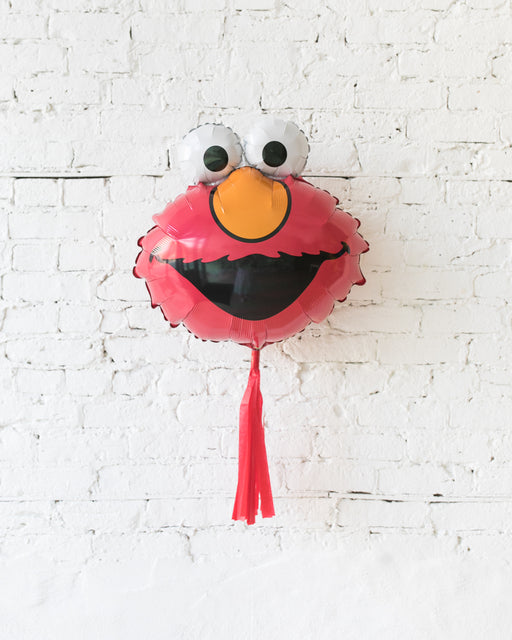 GIFT-20in Elmo Foil Balloon with Red Skirt