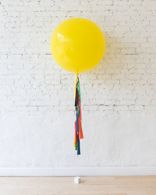 Sesame Street Theme - Giant Balloon with Tassel
