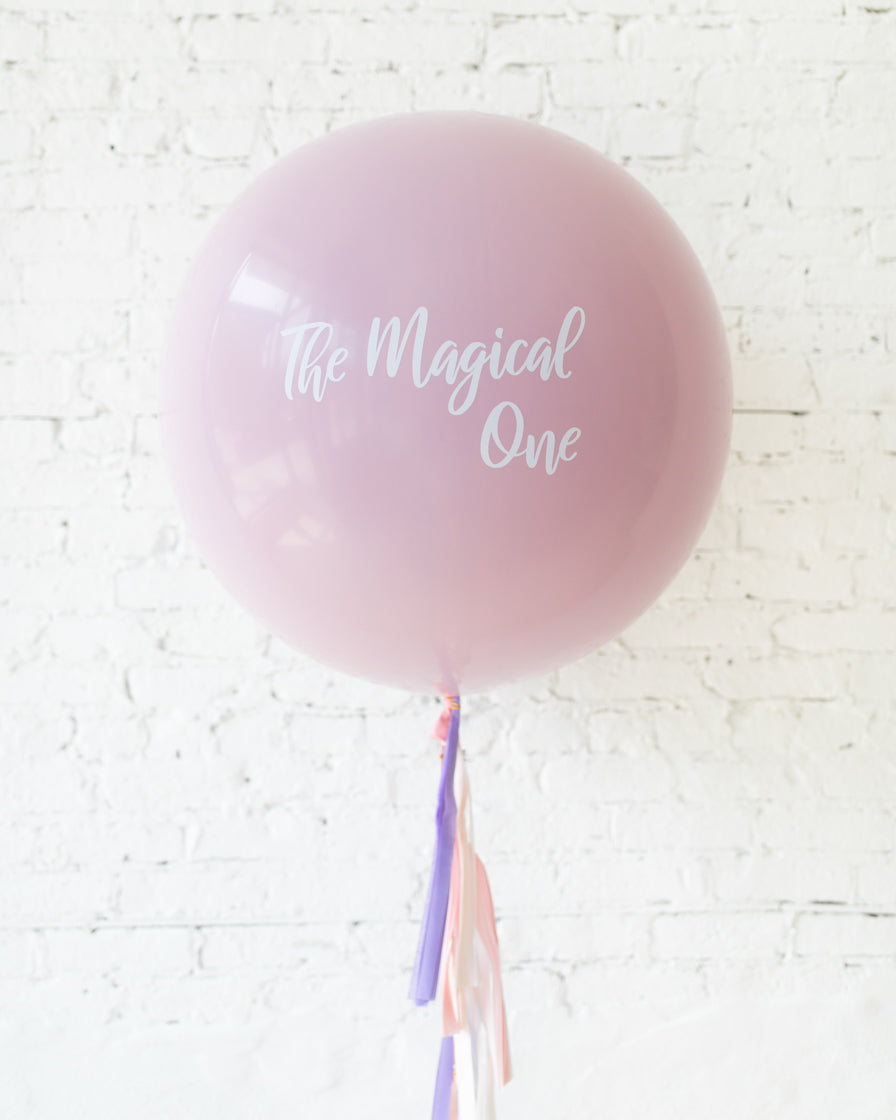 Unicorn Theme Specialty Giant Balloon and Tassel