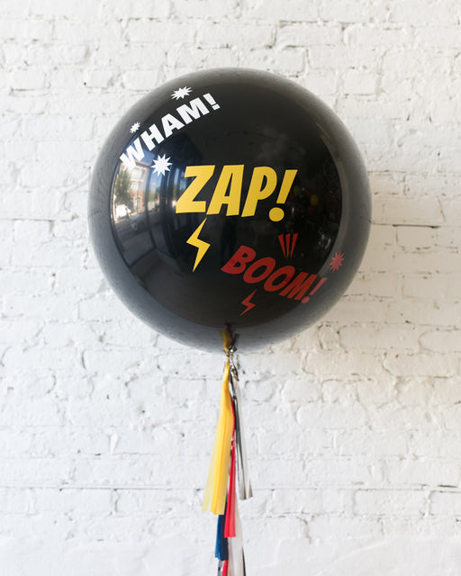 Superhero Theme - Action Giant Balloon with Tassel