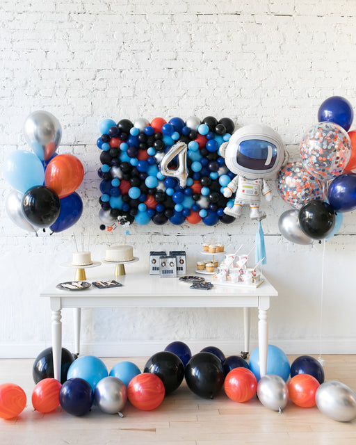 Space Theme Balloon Board & Bouquets Set