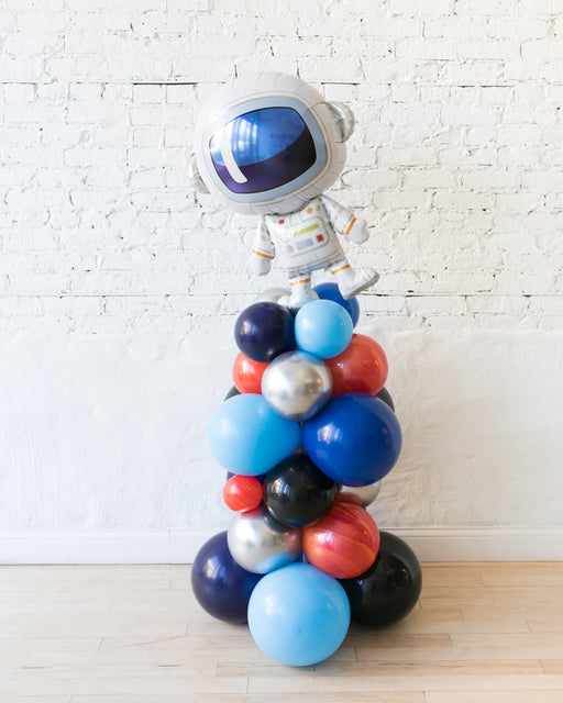 Space Theme Astronaut Balloon Column - small