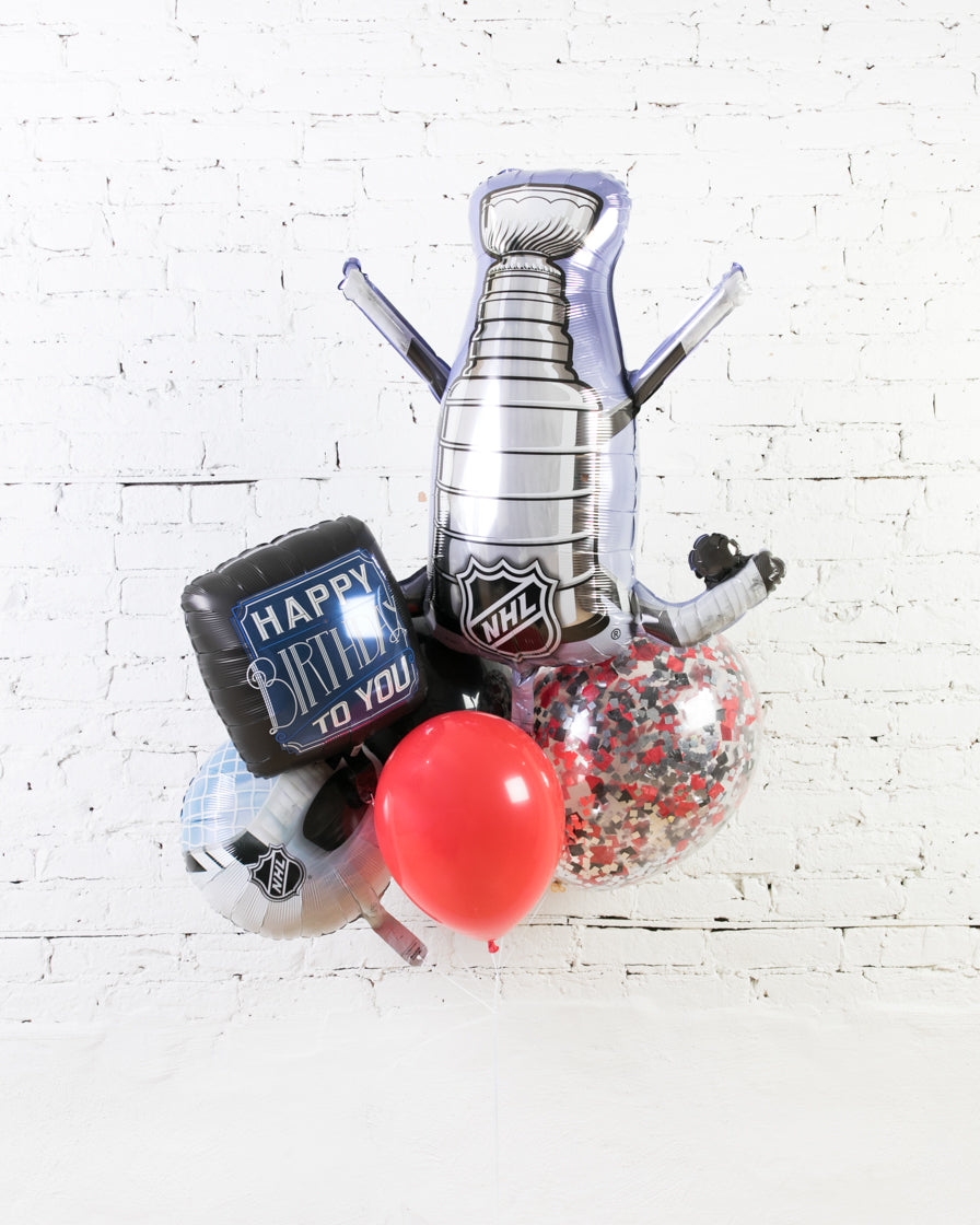 GIFT-Hockey Theme Birthday Bouquet