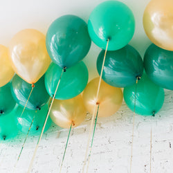 St Patricks Day Ceiling Balloons