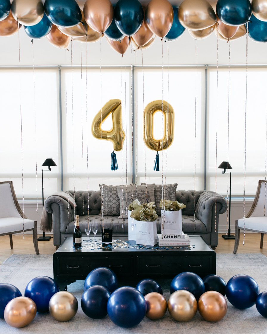 Elegant Birthday Surprise Set