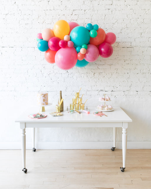 Tropical Time - Backdrop Balloon Garland Install Piece - 3ft