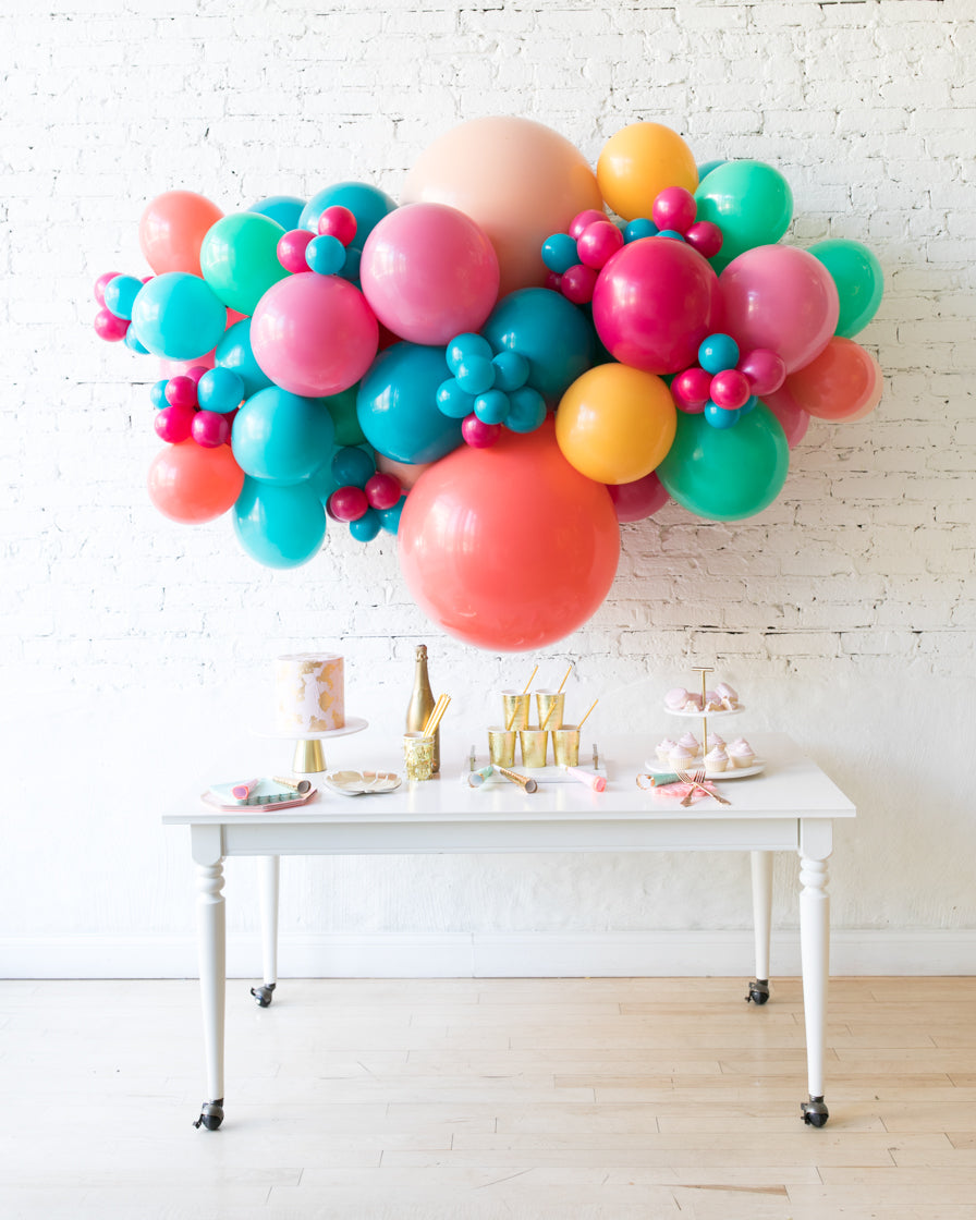 Tropical Time - Backdrop Balloon Garland Install Piece - 6ft