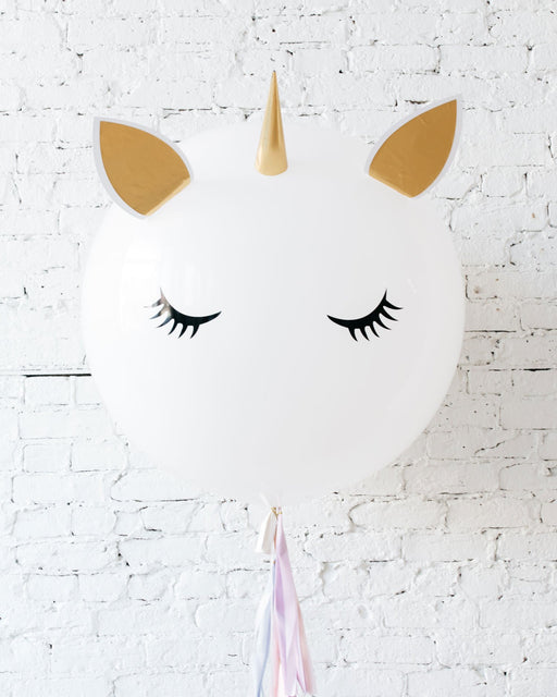 Unicorn Specialty Giant Balloon with Tassel