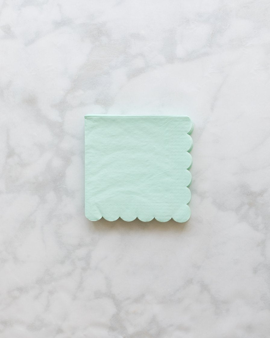 Meri Meri Mint Small Napkin - pack of 20
