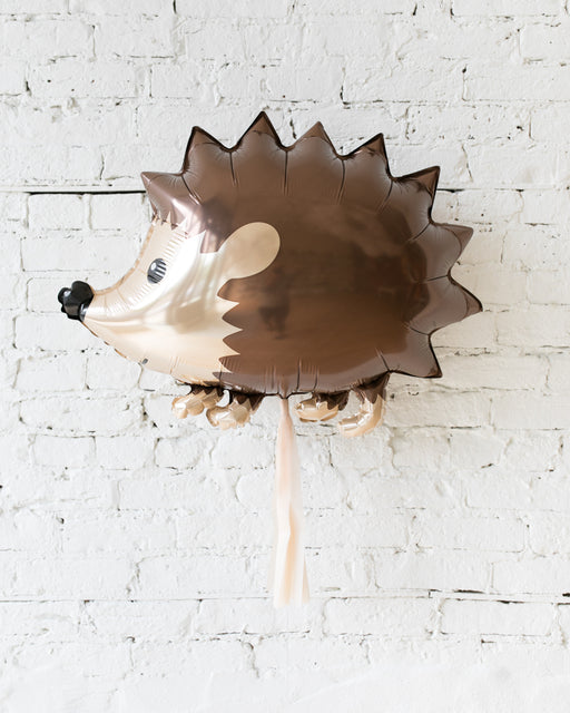 GIFT-30in Hedgehog Foil Balloon and Blush Skirt