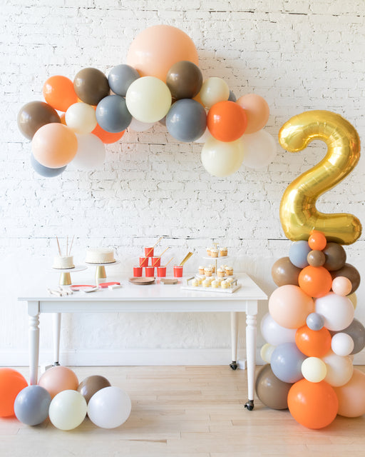 Woodland Theme - Floating Arch & Number Column