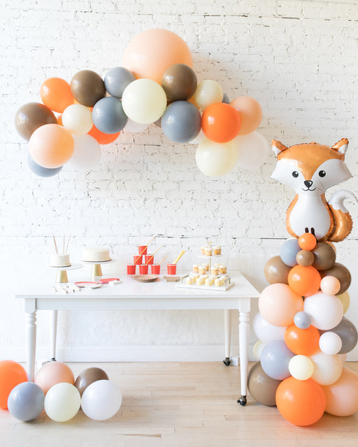 Woodland Theme - Floating Arch & Fox Column