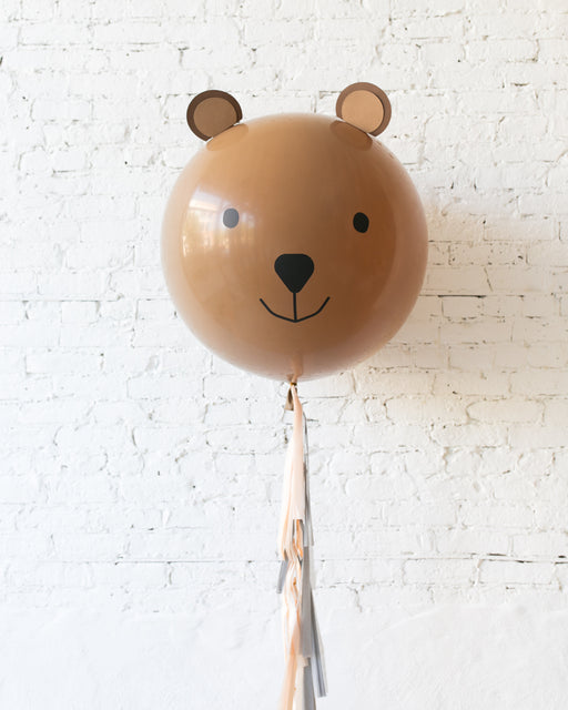 Bear Specialty Giant Balloon with Tassel