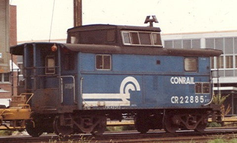 HO Conrail Caboose Decals