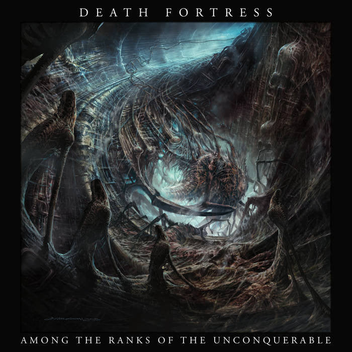 Death Fortress - Among the Ranks of the Unconquerable LP