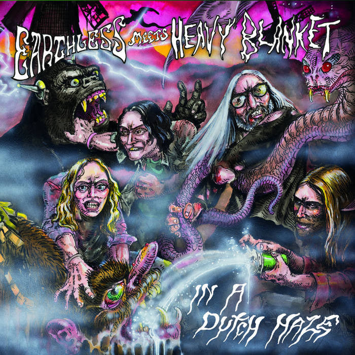 Earthless meets Heavy Blanket - In A Dutch Haze 2LP