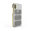 Extreme GTR for iPhone X Brushed Steel / Yellow Trim