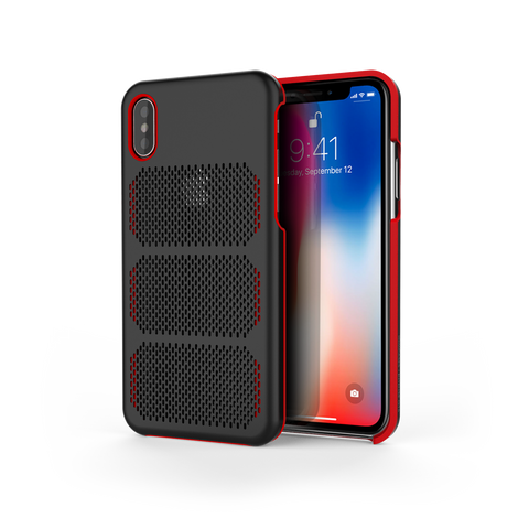 Extreme GTR for iPhone X Black / Red Trim