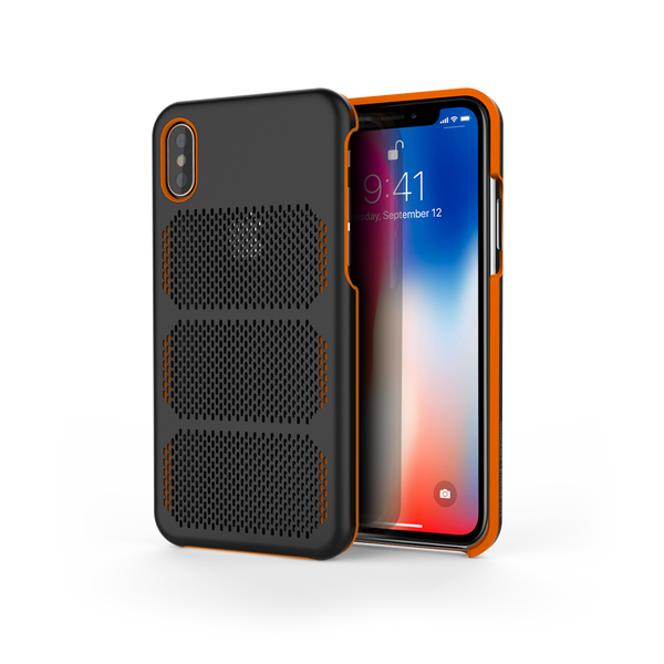 Extreme GTR for iPhone X Black / Orange Trim