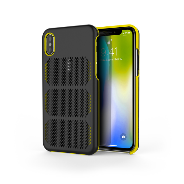 Extreme GTR for iPhone X Black / Yellow Trim