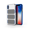 Extreme GTR for iPhone X Brushed Steel / Exotic Blue Trim