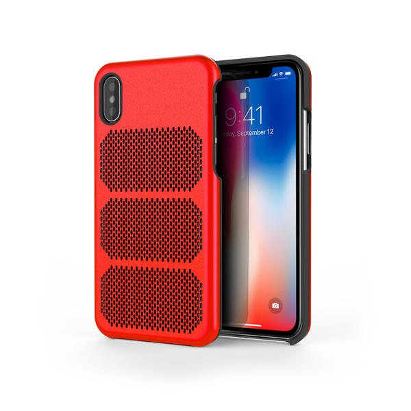 Extreme GTR for iPhone X Rosso / Black Trim