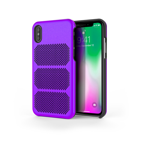 Extreme GTR for iPhone X Purple / Black Trim