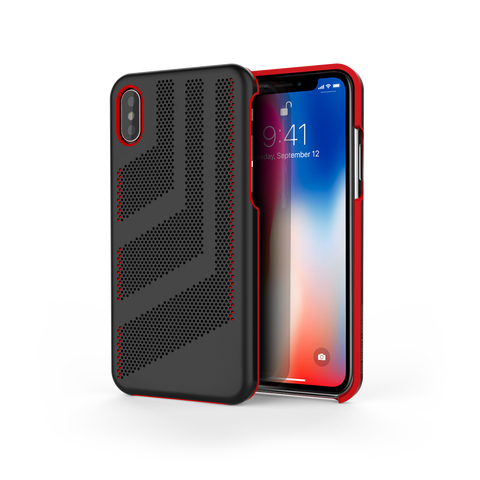 Intense GTS for iPhone X Black / Red Trim