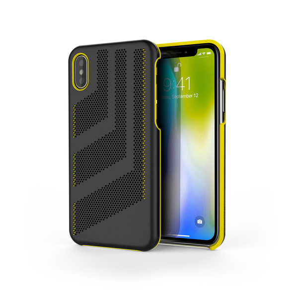 Intense GTS for iPhone X Black / Yellow Trim