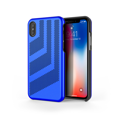 Intense GTS for iPhone X Exotic Blue / Black Trim