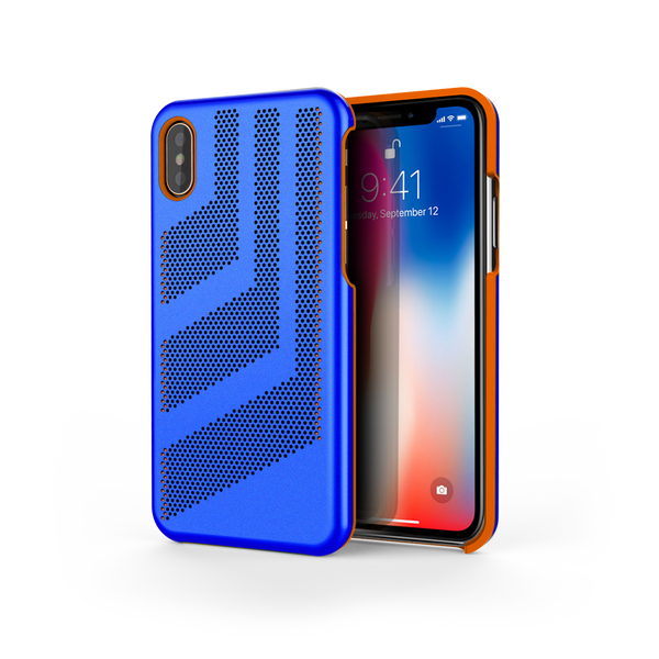 Intense GTS for iPhone X Exotic Blue / Orange Trim