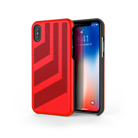 Intense GTS for iPhone X Rosso / Black Trim