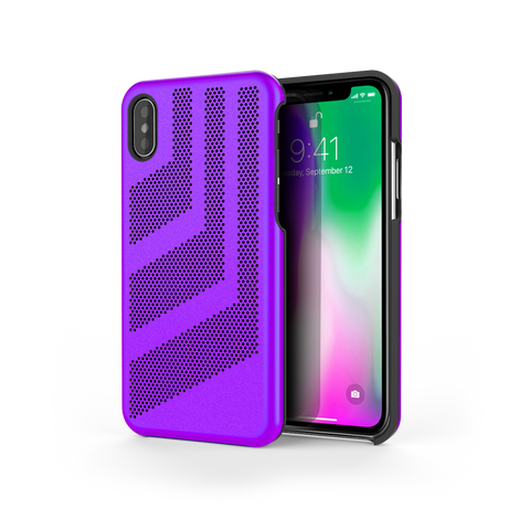 Intense GTS for iPhone X Purple / Black Trim