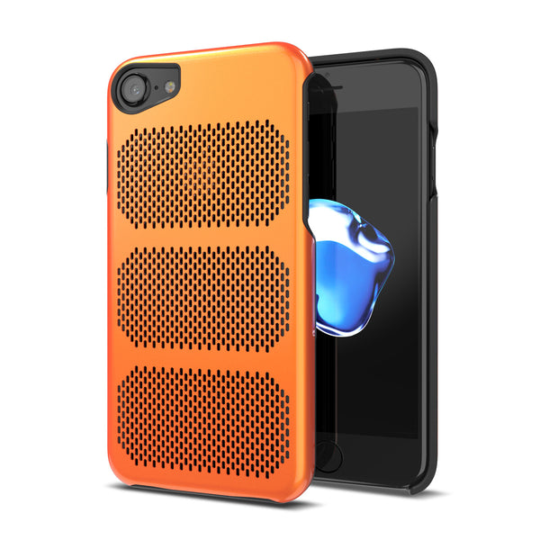 Extreme GT for iPhone 7 Exotic Orange / Black Trim [compatible with 6s,6]
