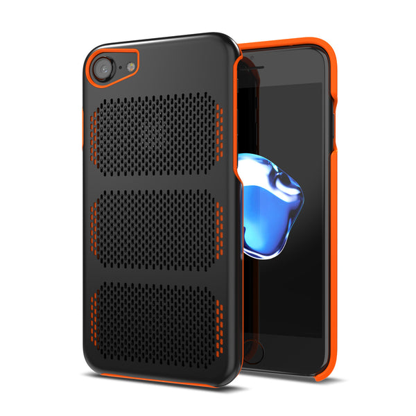 first rate 1948f 58fb8 Extreme GT for iPhone 8 Black / Orange Trim [compatible with 7,6s,6]