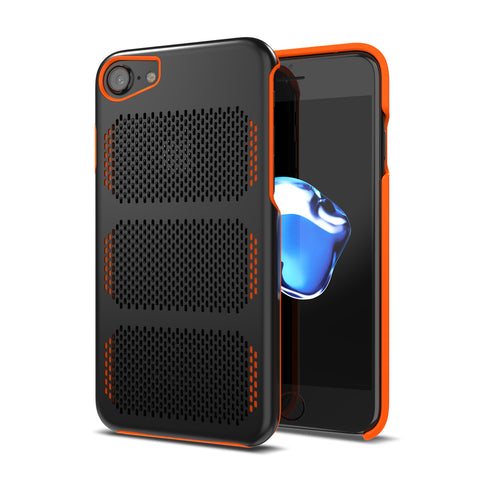 Extreme GT for iPhone 7 Black / Orange Trim [compatible with 6s,6]