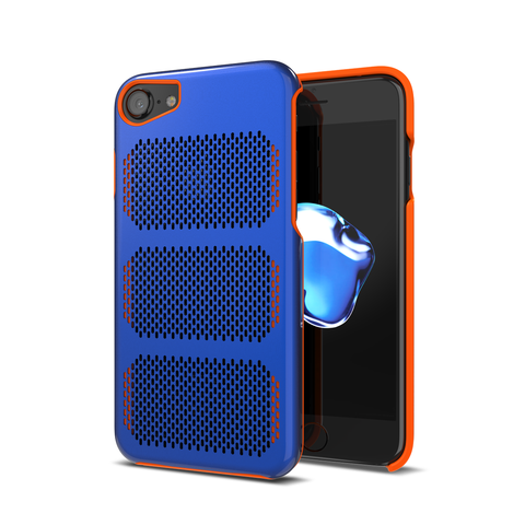 Extreme GT for iPhone 7 Exotic Blue / Orange Trim [compatible with 6s,6]