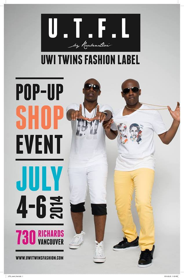 Hello Vancity: Uwi Twins Fashion Label Unveil Musically Inspired Spring/Summer 2014 Collection