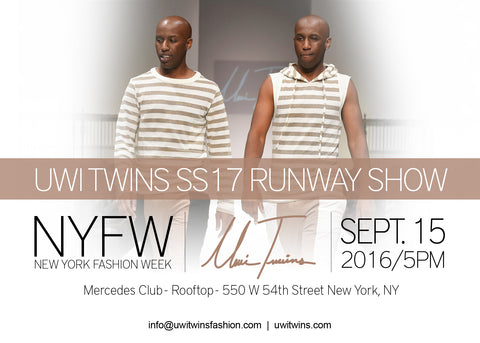 Uwi Twins debut SS17 Collection at New York Fashion Week