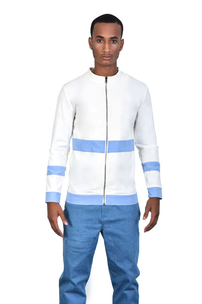 Men's Baby Blue Jacket