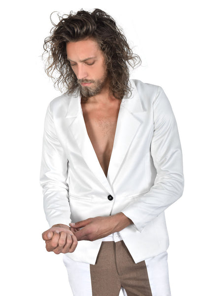 Men All White Jacket