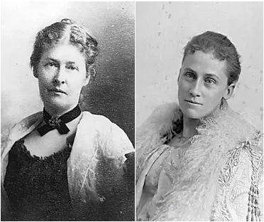 Portrait de Martha May Phillips et d'Alice J. Peck