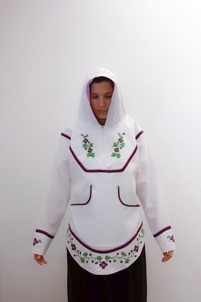 Akulik brodé blanc / White Embroidered Akulik, 2019