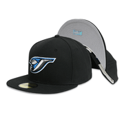 [10048925] Toronto Blue Jays Black Fitted Hats