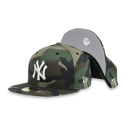 [70401241] New York Yankee Men's Camo Fitted Hat