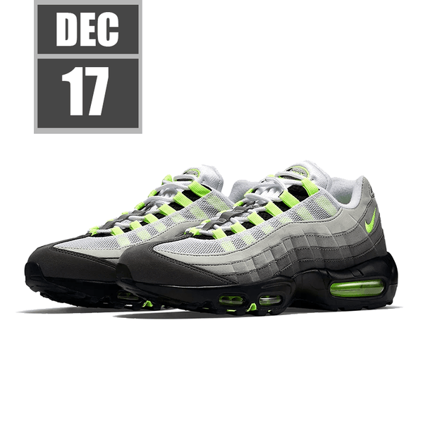 "[2020/12/17] [CT1689-001] Air Max 95 OG ""Neon"""