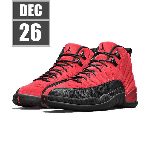 "[2020/11/28] [CT8013-602] Air Jordan Retro 12 ""Reverse Flu Game"""