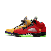 "[CZ5725-700] Air Jordan Retro 5 ""What the"" Men Shoes"