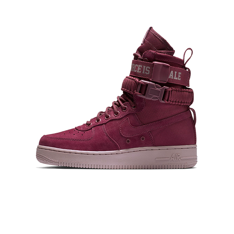 "aj1700-600 Nike AF1 SF High ""The Force is Female"" Women's Shoes"