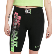 [DM7989-010] Nike Sportswear Essential Women's Mid-Rise Bike Shorts